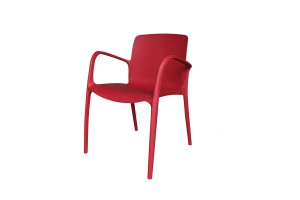 Design Tuinstoel VISBY-  rood