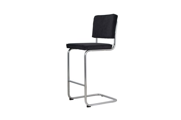 ridge-rib-barstool-black