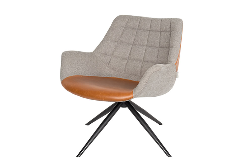 Zuiver Lounge Stoel.Lounge Chair Doulton Van Zuiver